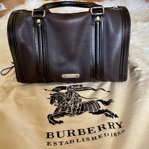 Authentic Burberry Barrel Purse